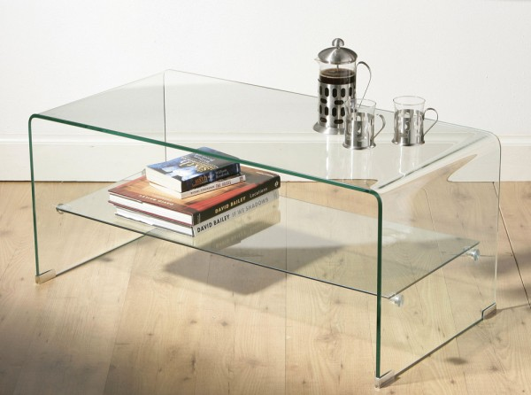 Picture of: Rectangular Glass coffee Table Rectangular,