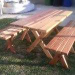 Rectangular Wood Picnic Table Plans