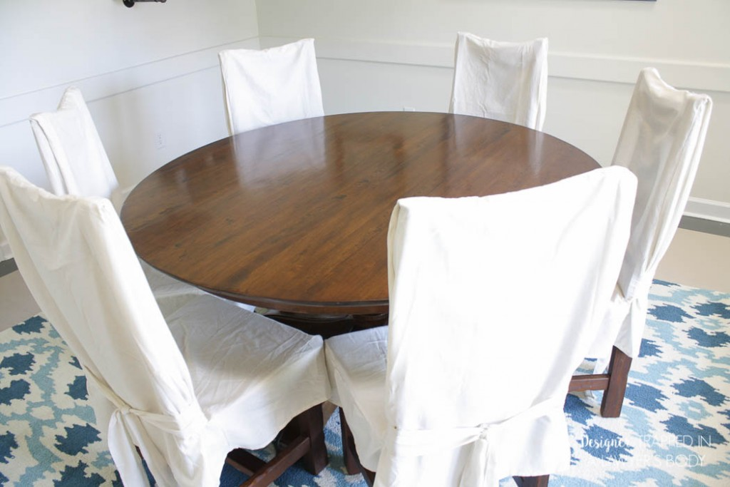 Picture of: Refinish Dining Room Table Cover