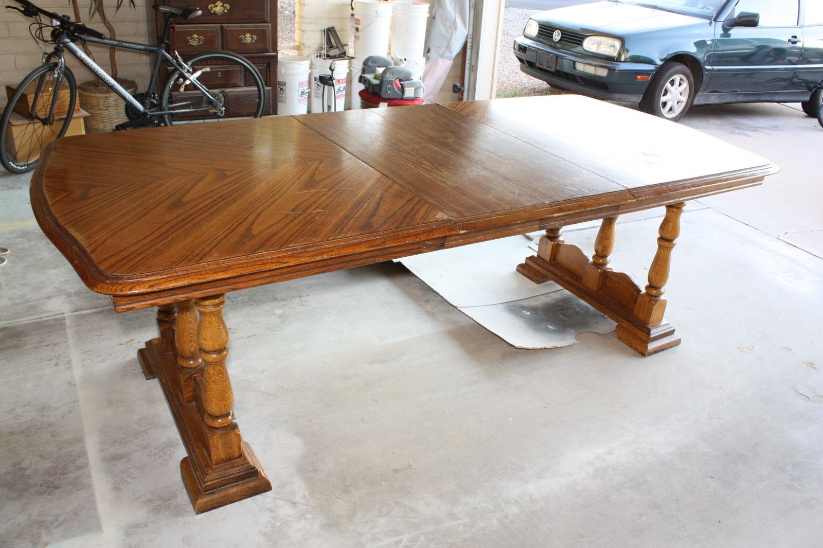 Picture of: Refinish Dining Room Table Wood