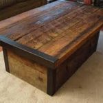 Restoration Hardware Coffee Table Reclaimed Wood