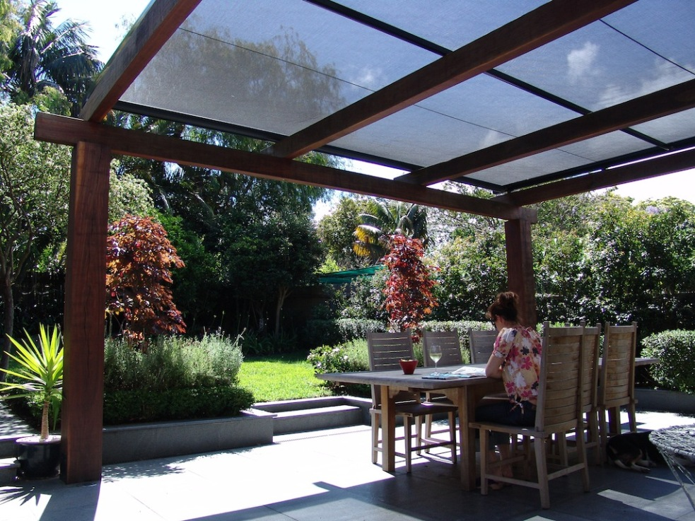 Picture of: Retractable Pergola Ideas