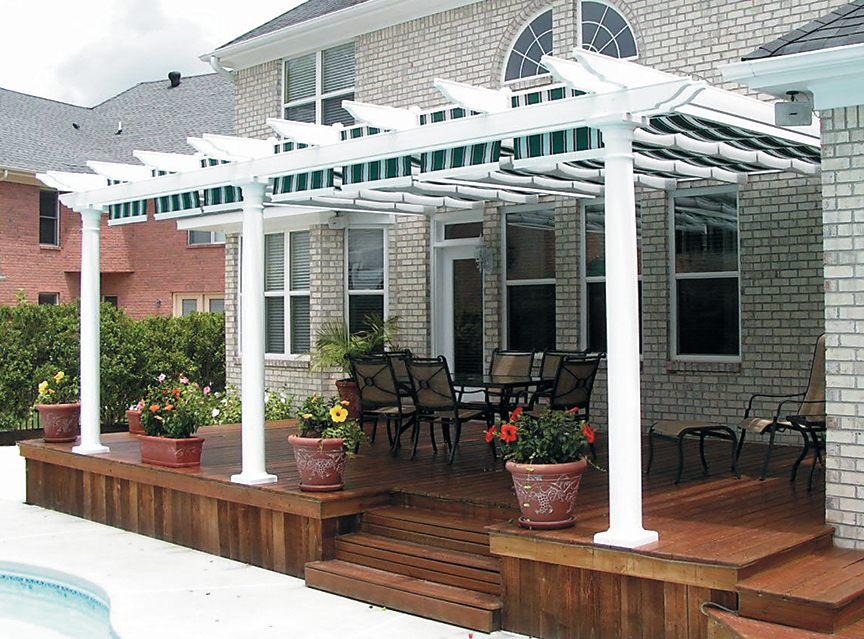 Picture of: Retractable Pergola Inspired