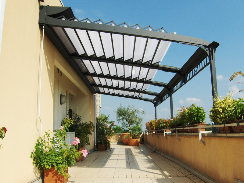 Picture of: Retractable Pergola