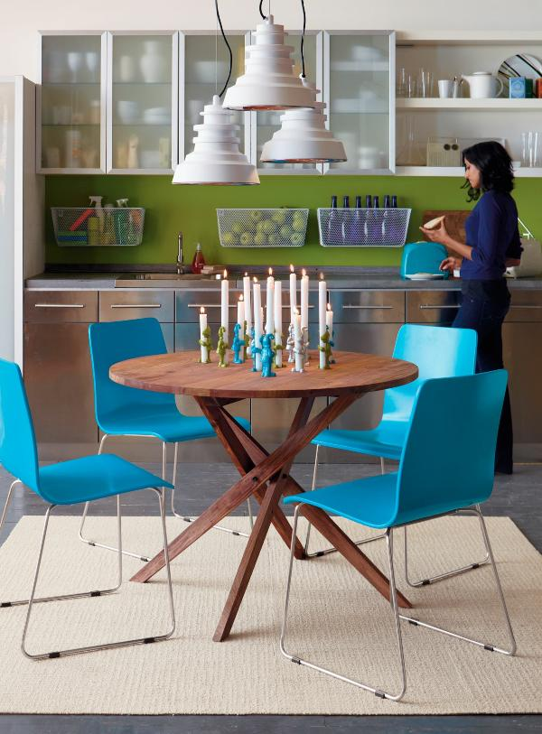 Image of: Retro Centerpiece for Dining Room Table