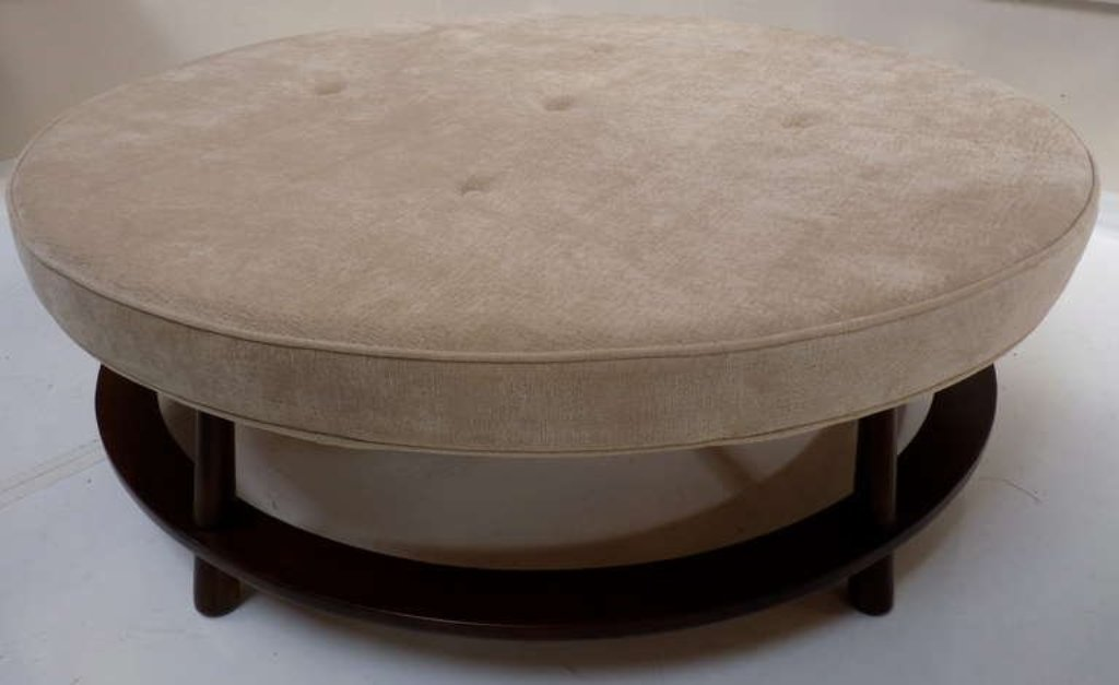 Picture of: Round Ottoman Cocktail Table