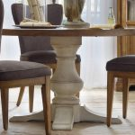 Round Pedestal Dining Table Paint