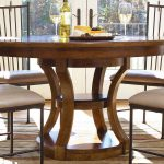 Round Pedestal Dining Table Size