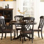 Round Pedestal Dining Table Wood