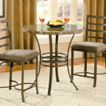 Round Bistro Table Wood