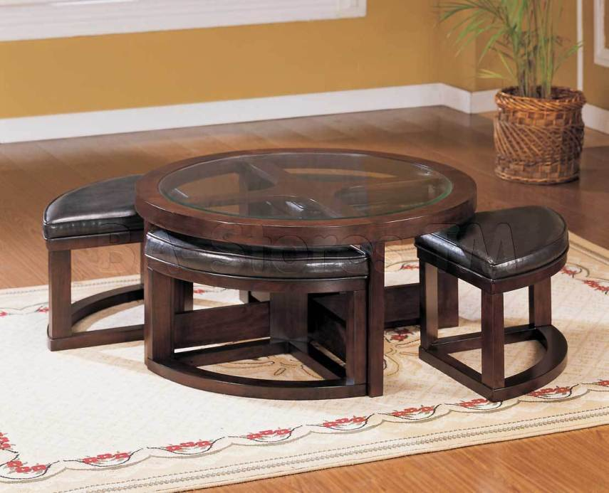 Round cocktail table rental