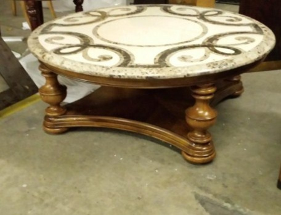 Image of: Round end tables at walmart