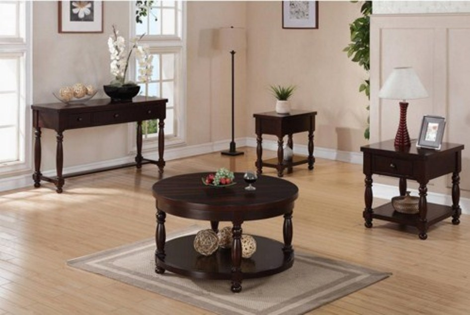 Image of: Round end tables walmart
