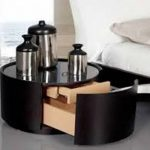 Round End Tables With Storage