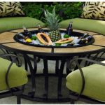 Round Fire Pit Table Propane