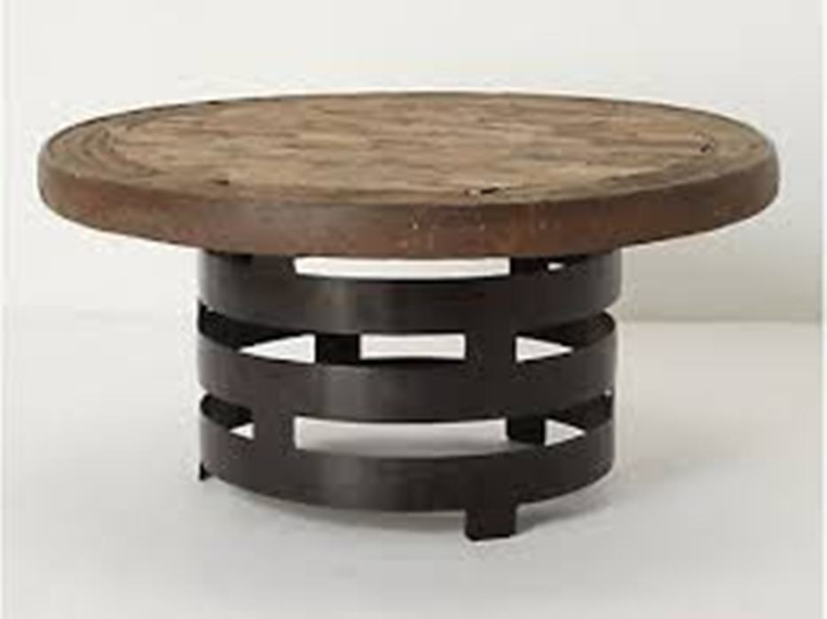 Image of: Round folding tables at Lowes