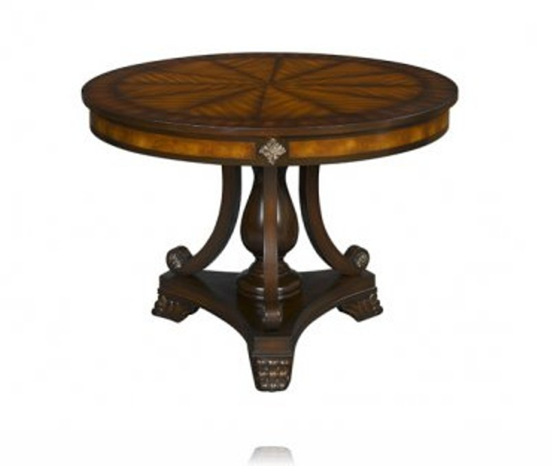 Image of: Round foyer table for sale