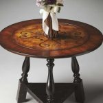 Round Foyer Table Height