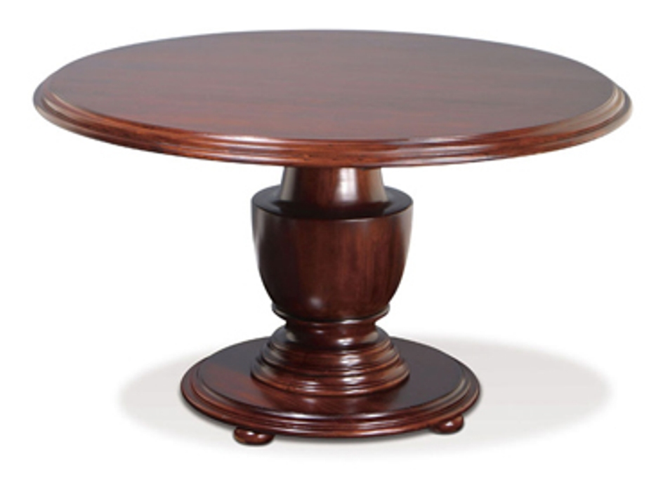 Image of: Round pedestal table plans
