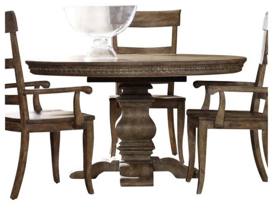 Image of: Round pedestal tables 42 inches