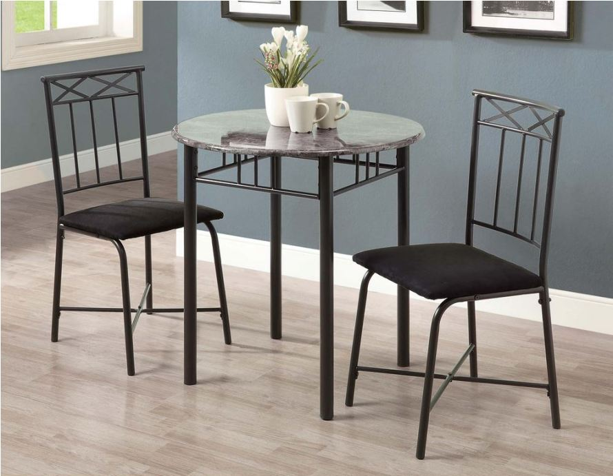 Image of: Round pub height table and chairs