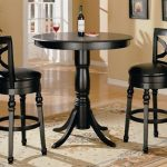Round Pub Style Table And Chairs