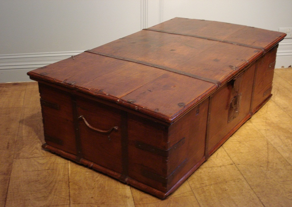 Picture of: Rustic Coffee Table Trunks