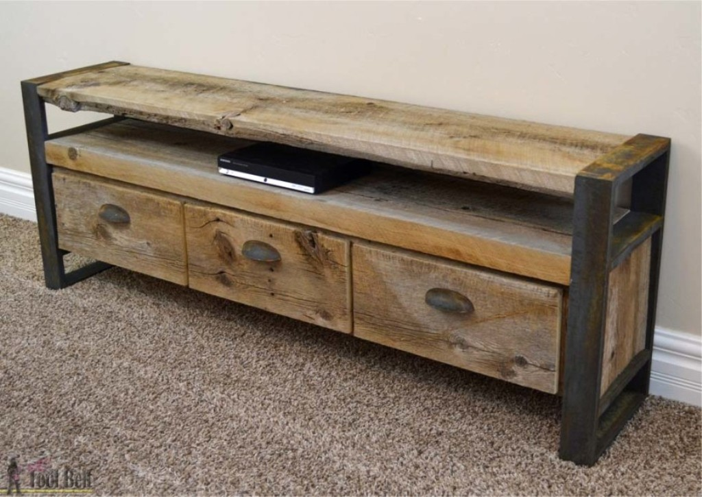 Picture of: Rustic Console Table