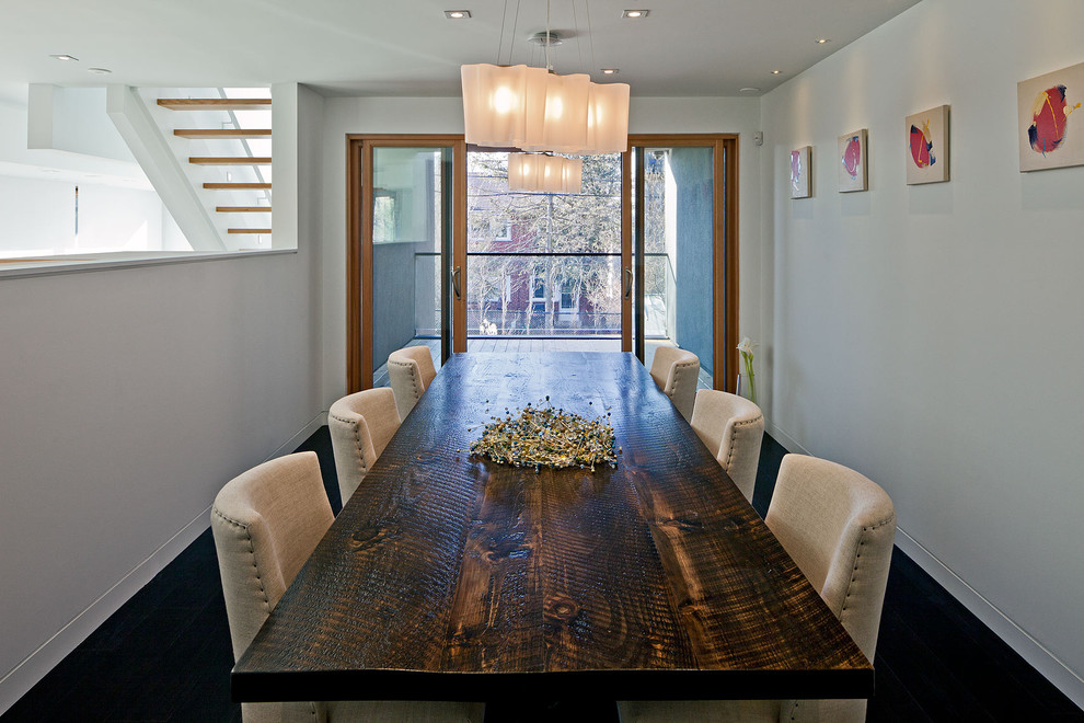 Rustic Distressed Wood Dining Room Table