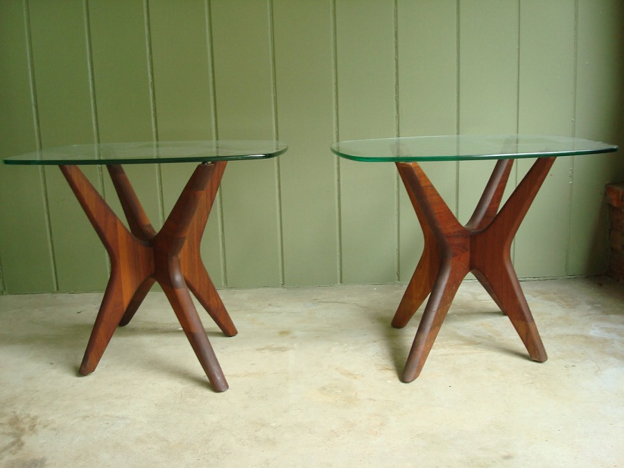 Image of: rustic mid century modern coffee table