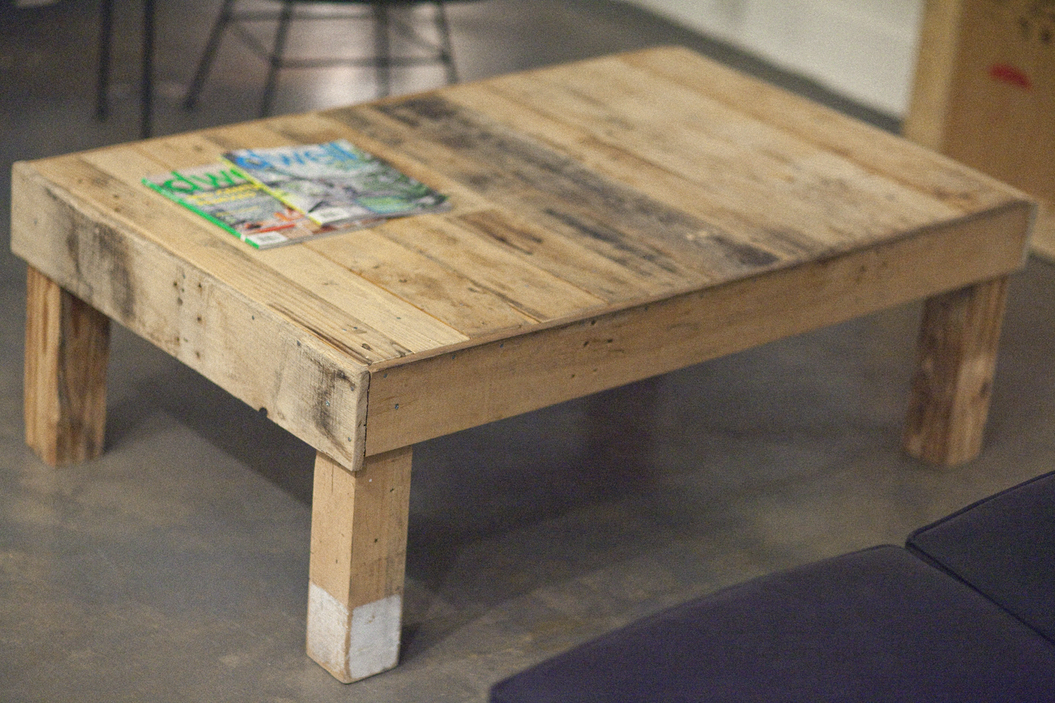Image of: Rustic Pallet Coffee Table