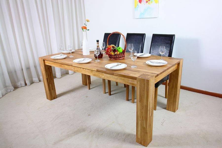 Image of: rustic solid wood tables
