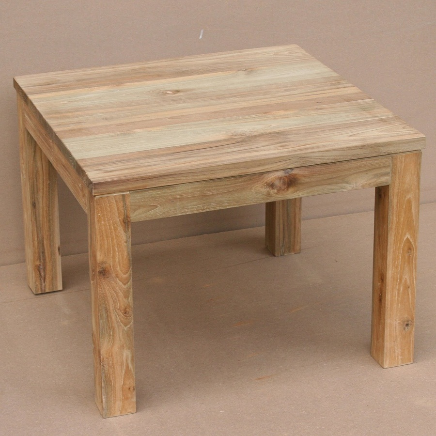 Picture of: Simple Reclaimed Wood Side Table