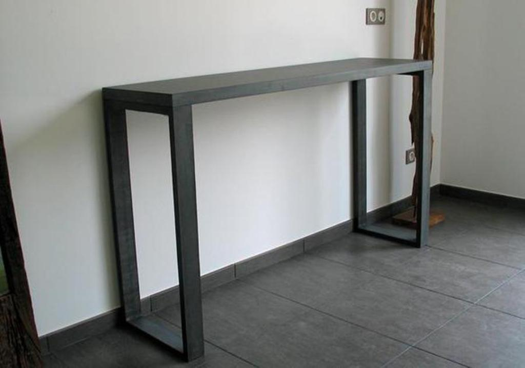Picture of: Skinny Console Table Ideas