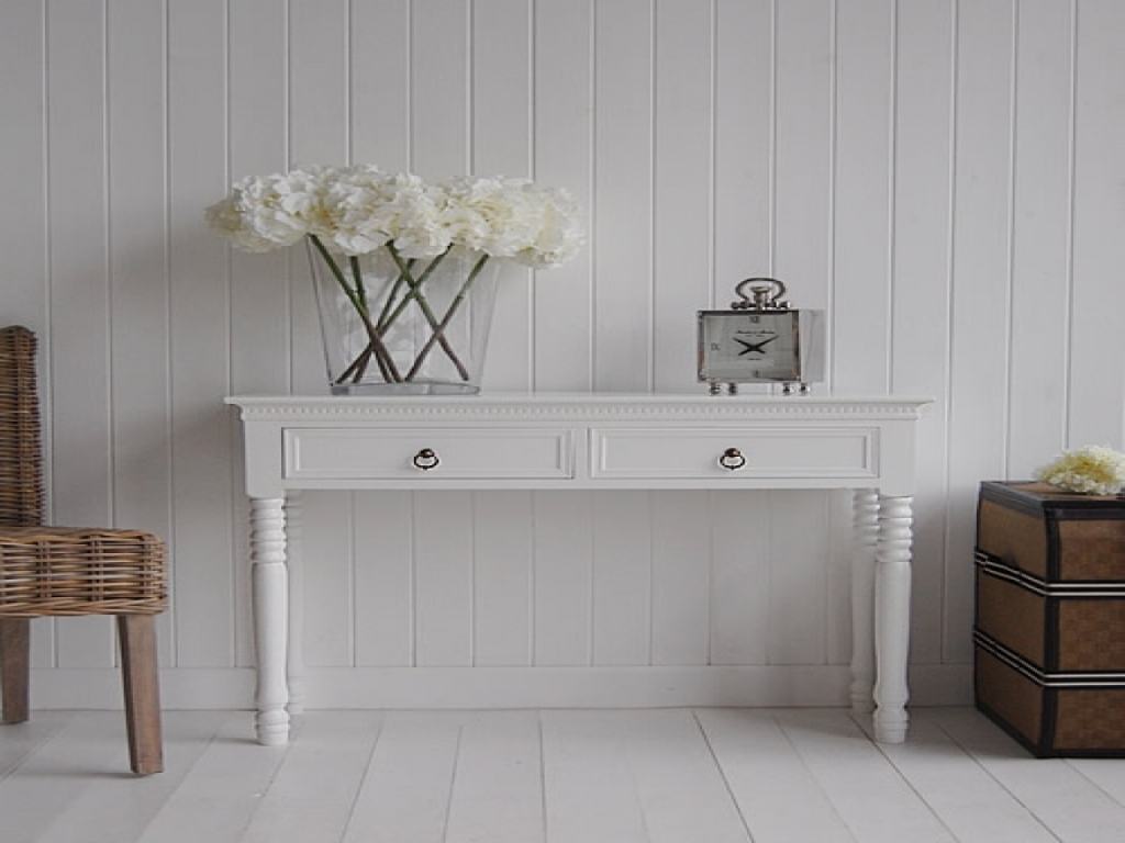 Image of: Skinny Sofa Table Ikea