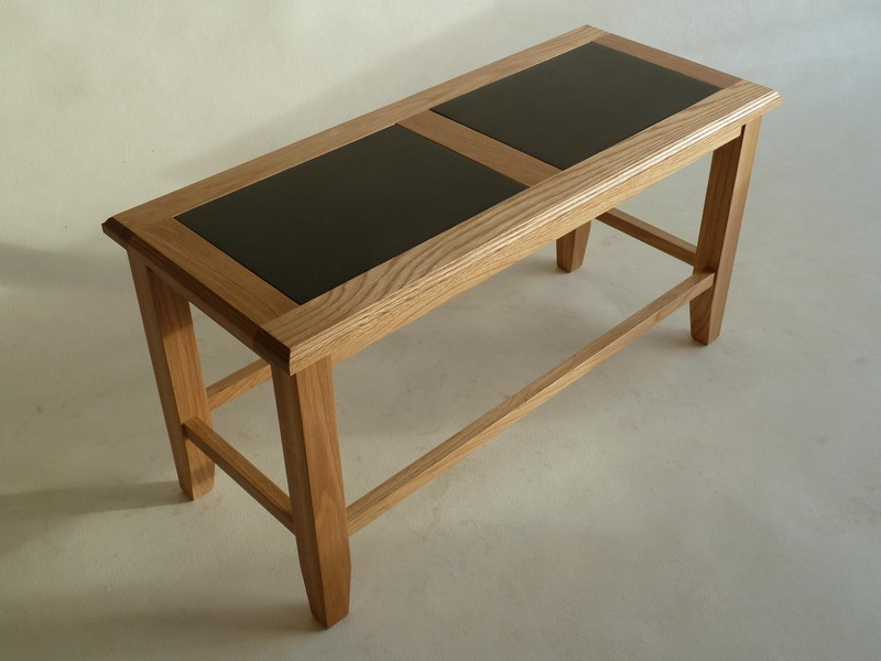 Image of: Slate Top Coffee Table Simple