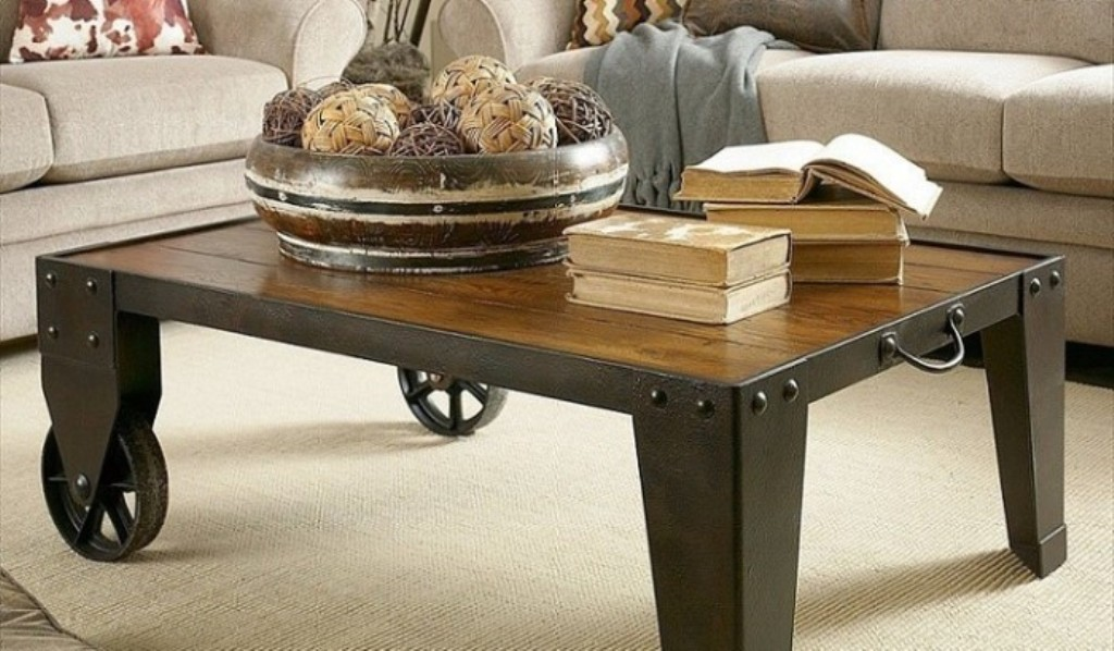 Small Coffee Table Wheels