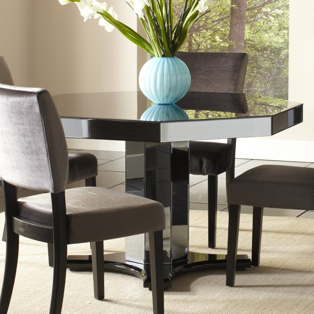 Small Mirrored Dining Room Table
