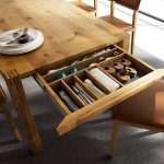 Solid Wood Tables Drawers