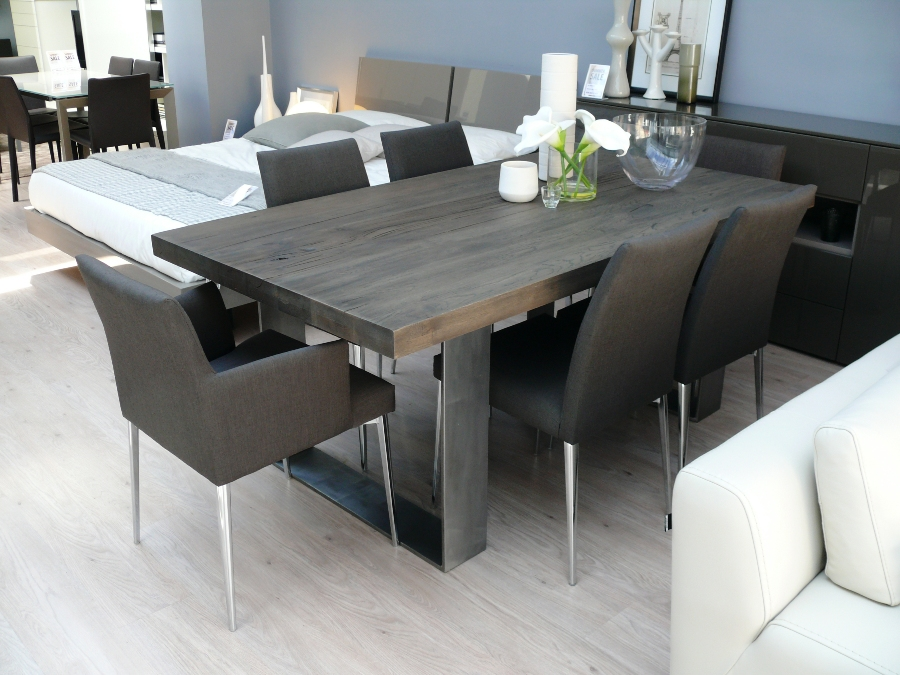 Image of: solid wood tables modern