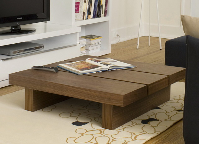 Image of: large square coffee table uk