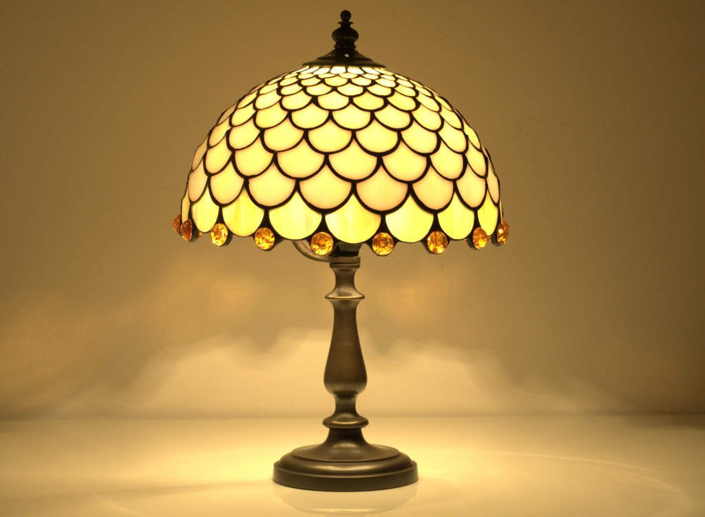 Image of: Stained Glass Table Lamp Studios