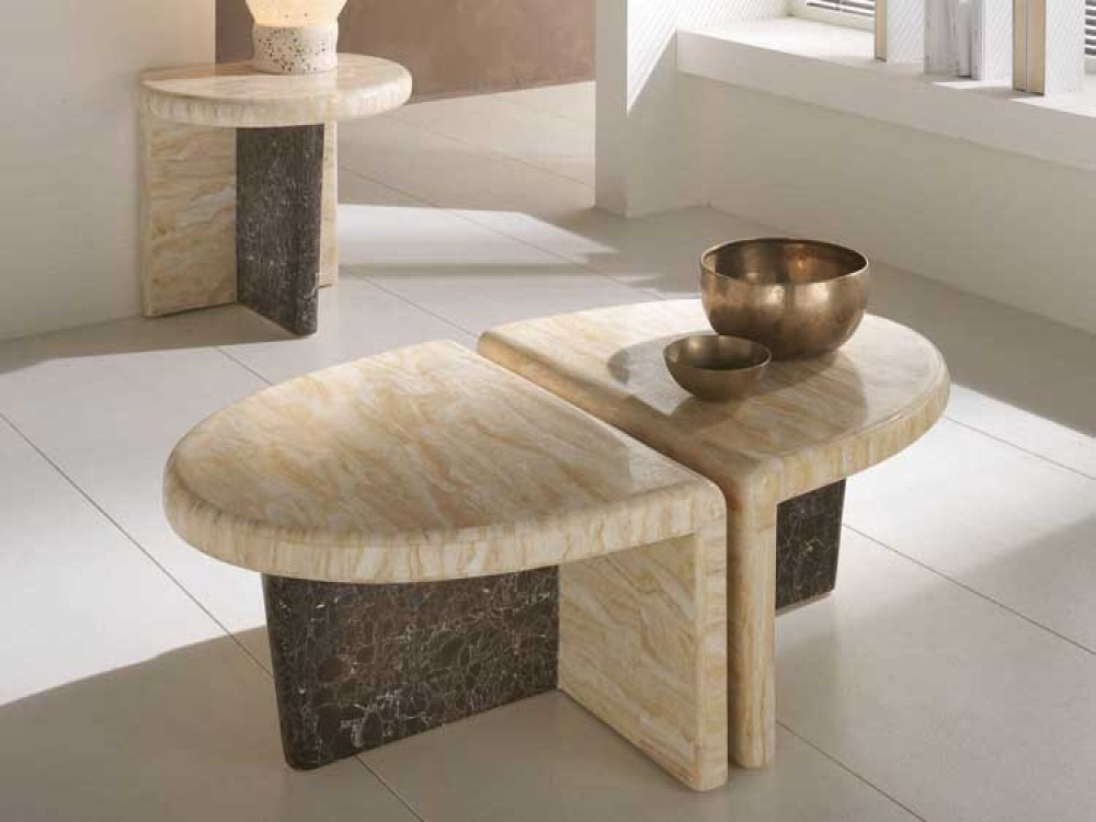 Stone Coffee Table Design