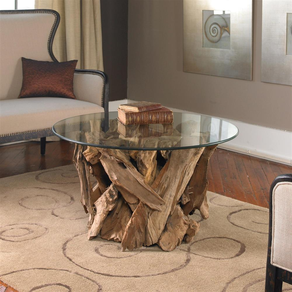 Picture of: Style Driftwood Coffee Table