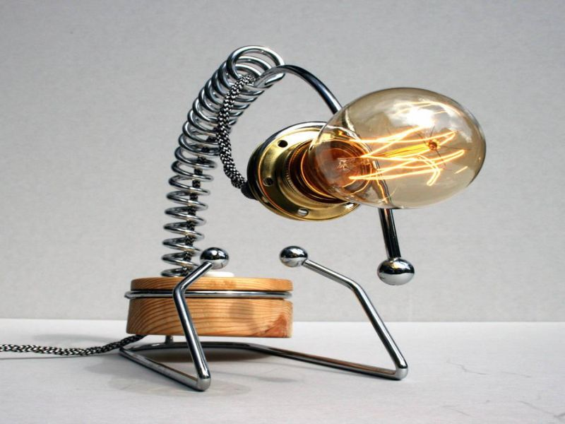 Picture of: Style Edison Table Lamp