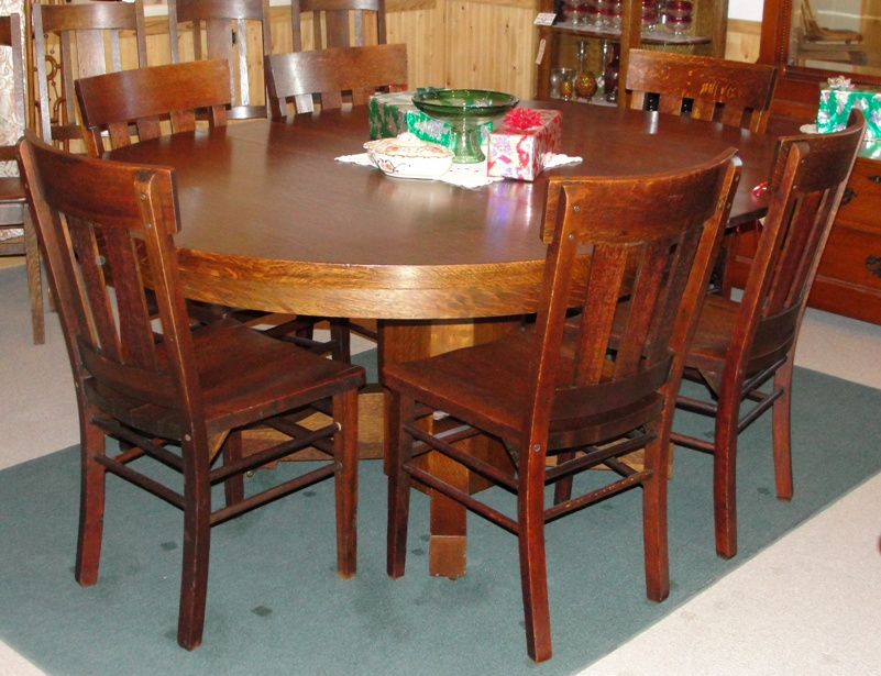 Picture of: Style Mission Style Dining Table