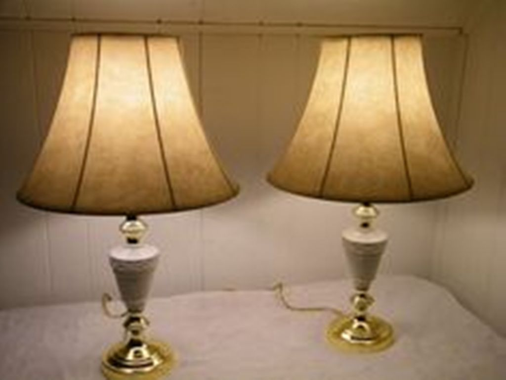 Picture of: Stylish Bronze Table Lamps
