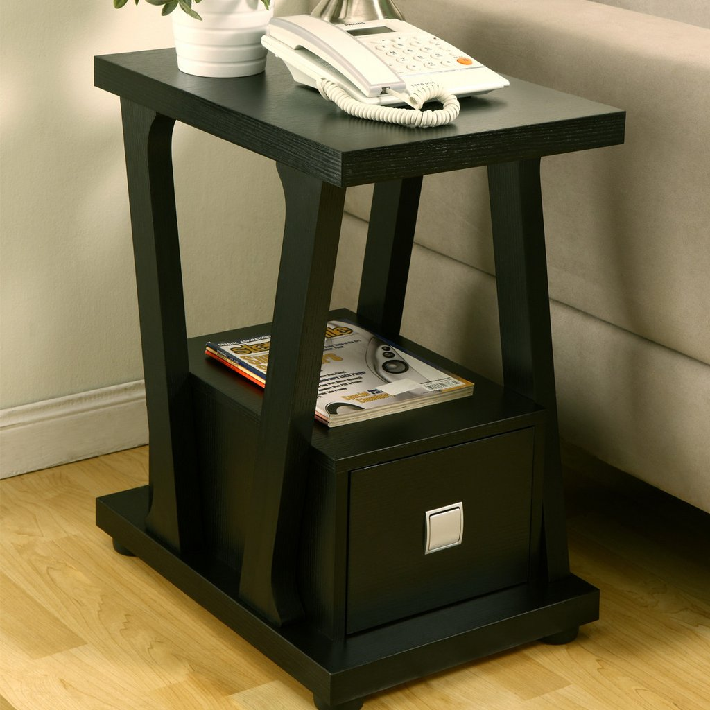 Image of: Stylish Rectangular End Table
