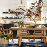 Supper Pottery Barn Dining Room Table