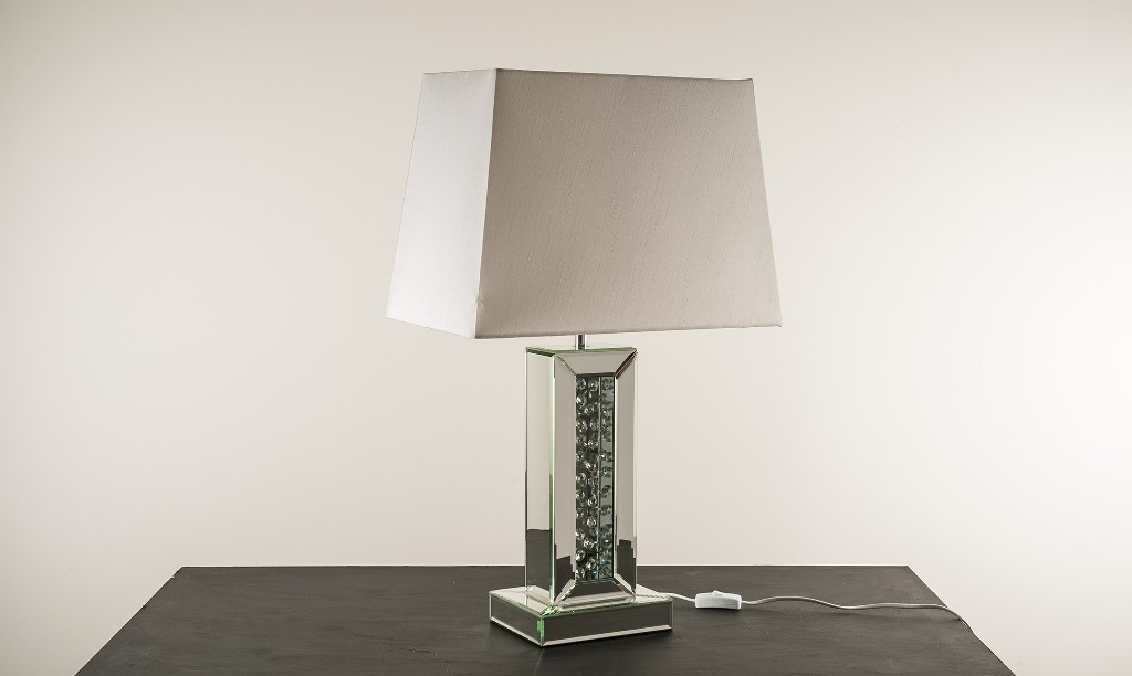 Image of: tall table lamp base